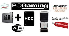 FAST BARGAIN T3500 GAMING SSD PLUS HDD PC GRAPHIC CARD WINDOWS 10 COMPUTER WIFI
