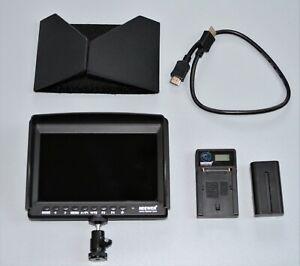 Neewer F100 7 Inch Camera Field Monitor HD Video Assist Slim 1280x800 4K HDMI