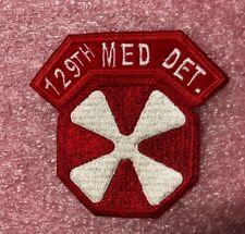 """8th Army KOREA /""""443rd QM BASE DEPOT/"""" tab 3.25/"""" patch"""