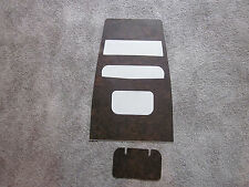 1967-1968  firebird dash wood grain trim for models without air