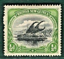 British New Guinea (PAPUA) SG.1 ½d LAKATOI Mint MM 1901 Cat £24 CANOES GRED45