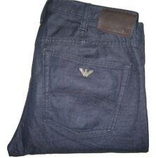 Mens AJ Armani J21 Regular Fit Dark Blue Stretch Denim Jeans W32 L34 Straight