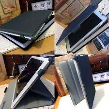 Basso profilo BOOK CASE GRIGIO IMBOTTITO cartella per Apple iPad 9.7 pollici Air
