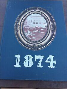 "1974 "" Myndersian"" Mynderse Academy Seneca Falls New York Yearbook"