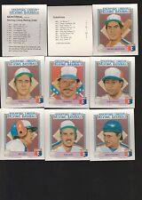 "1988 PARKER BROS. STARTING LINEUP ""TALKING BASEBALL""MONTREAL EXPOS SET"