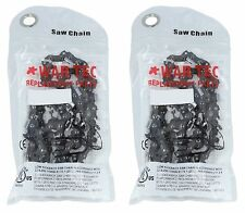"""16"""" Chainsaw Chain Pack Of 2 Fits McCULLOCH 833 835 836 839"""