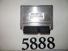 2004 04 AUDI A4 1.8L TURBO ENGINE CONTROL MODULE PCM ECU ECM BRAIN WM5888