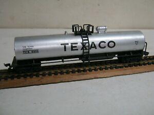 """HO """" TEXACO """"  50' SINGLE DOME TANK CAR-NICE!"""