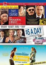 The Maiden Heist $5 a Day Sunshine Cleaning Triple Feature DVD FREE USA SHIPPING