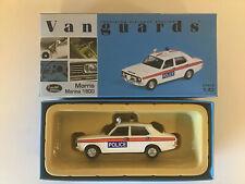 Vanguards VA 06302 Morris Marina 1800 Essex Police 1:43 Limited Edition