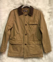 GAP Kids Tan Canvas Pockets Utility Jacket Sz L GUC - PLEASE READ