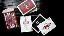 Carte da gioco SMOKE & MIRROR V6 RED,by Dan & Dave,poker size 1° edizione