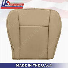 "DRIVER Bottom Leather Seat Cover 2003 2004 2005 2006 2007 Cadillac CTS In ""TAN"""