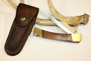 Rare { KABAR 1189 Knife and Sheath }...USA-hunting/skinner