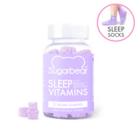 SugarBearHair Sleep, Vegan Gummy Vitamins with Melatonin (1 Month Supply)