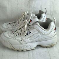 Fila Disruptor White Sneakers Womens Sz 6 Vintage 90s