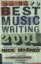 Da Capo Best Music Writing 2001:Finest Writing Rock, Pop, Jazz,etc. Nick Hornby