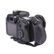 MQ-GS7 Leather Hand Grip Wrist Strap for Universal DSLR Cameras Canon EOS Nikon