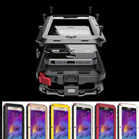 Aluminum Shockproof Waterproof Metal Cover Case For Samsung Galaxy S10 S8Plus S7