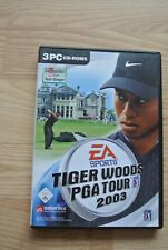 Tiger Woods PGA Tour 2003 PC 3-CD-Roms Computer