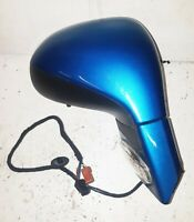 PEUGEOT 207 DOOR MIRROR RIGHT HAND SIDE BLUE PAINT CODE: KMUD