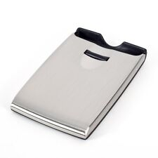 Womens stainless steel business and credit card cases ebay bey berk roller business card case colourmoves