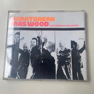 MRS WOOD ft EVE GALLAGHER - Heartbreak - CD Single 1994 House FREE SHIPPING