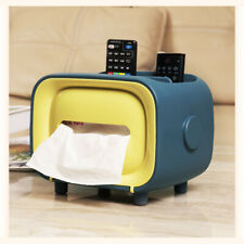 Retro Tissue Box Dispenser Covers Paper Storage Holder Napkin Case Organizer