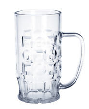20er Set Bier-Krug 0,5l aus Kunststoff