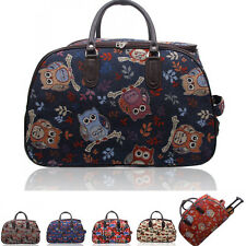 LeahWard Women's Holdall Luggage Bag Travel Weekend Hand Luggage Bag Canvas Week