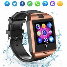 NEW ROSE GOLD SMART WATCH WITH  CURVED TOUCH SCREEN CALCULATOR TEXT CALL CAMERA