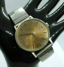 Vintage ROTARY 21 Jewel Automatic Mens Watch -  Stainless Steel expanding Strap