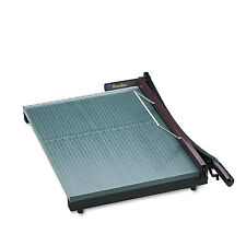 """Martin Yale StakCut Paper Trimmer 30 Sheets Wood Base 19"""" x 24-7/8"""" 724"""