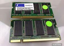 1gb (2 x 512mb) ddr-400 MHz pc3200u 200-pin sodimm memoria RAM-KIT PER NOTEBOOK