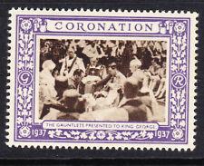 "GB  1937 Coronation ""Purple"" - The Gauntlet Presented -  Mint"