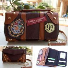 Hogwarts Harry Potter Wallet Messenge Bag School Badge Crossbody Clutch Purse k1