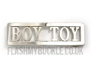 Madonna Boy Toy Buckle - replica BOY TOY buckle - Ideal Fancy Dress Buckle