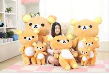 "13.77"" San-x Rilakkuma Relax Bear Cute Stuffed Plush Doll Toy Gift"