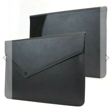 """PU Leather Carry Case For MacBook Pro 13"""" Touch Bar Sleeve black"""