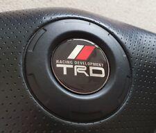 toyota trd celica, mr2, supra steering domed wheel badge