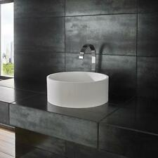 Countertop Solid Round Home Bathroom Sinks