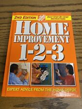 Home Improvement 1-2-3 Book Hardcover 2nd Edition Repair Fix It