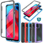 For Motorola Moto G Stylus 5G 2021 Case Clear Shockproof Cover Screen Protector