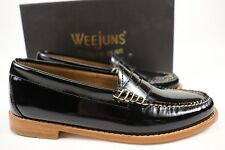 7bef0b40ad2 NIB WEEJUNS G.H. BASS Size 6.5 Women s Black Patent Leather WHITNEY Penny  Loafer