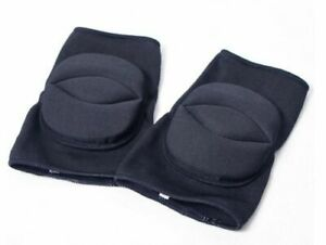 Knee Pads For Dance Gym All Sports Black Protector Pads - Size: S and M