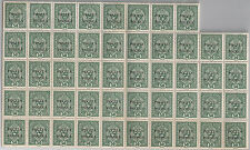 48 pcs Poland 41 overprint 1919 Cracow 50h MNH * * position 51-100 Wiatrowski