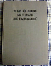 1939 - 1945 POLOGNE NOUS N'AVONS PAS OUBLIE  WE HAVE NOT FORGOTEN MBI HE ЗАБЫИ