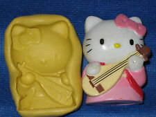 Hello Kitty Push Mold  Food Safe Silicone  #743 Chocolate Cake Topper Resin Soap