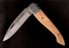 Couteau pliant Regional le Pyreneen - Manche 11.5 cm buis Guilloche