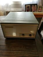 General Electric Phonograph Model RP1110-TWO-TONE BLUE